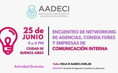 25/6/2018: Encuentro de Networking de Agencias, Consultores y Empresas