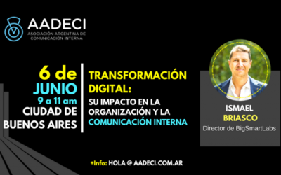 6/6/2018 – Transformación Digital y Comunicación Interna