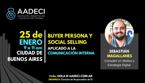 25/1/2018 – Social Selling, Buyer Persona y Comunicación Interna
