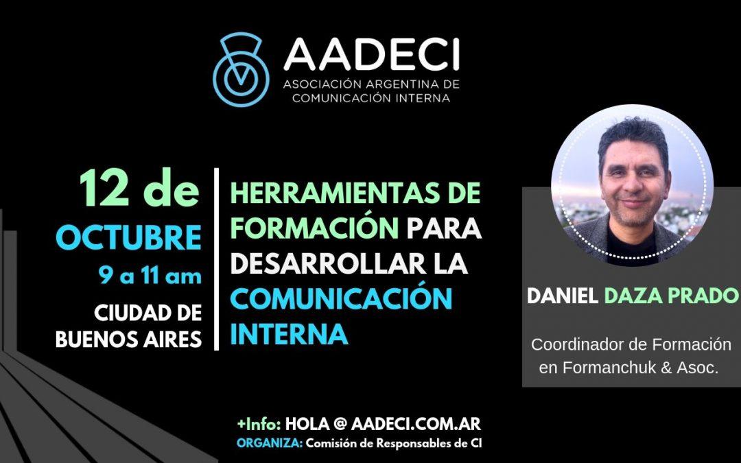 12/10/2018 – Herramientas de Formación para desarrollar la Comunicación Interna