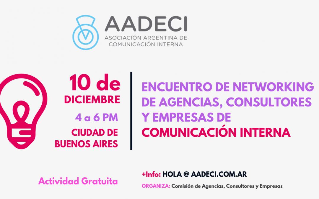 10/12/2018 – Encuentro de Networking de Agencias, Consultores y Empresas de CI
