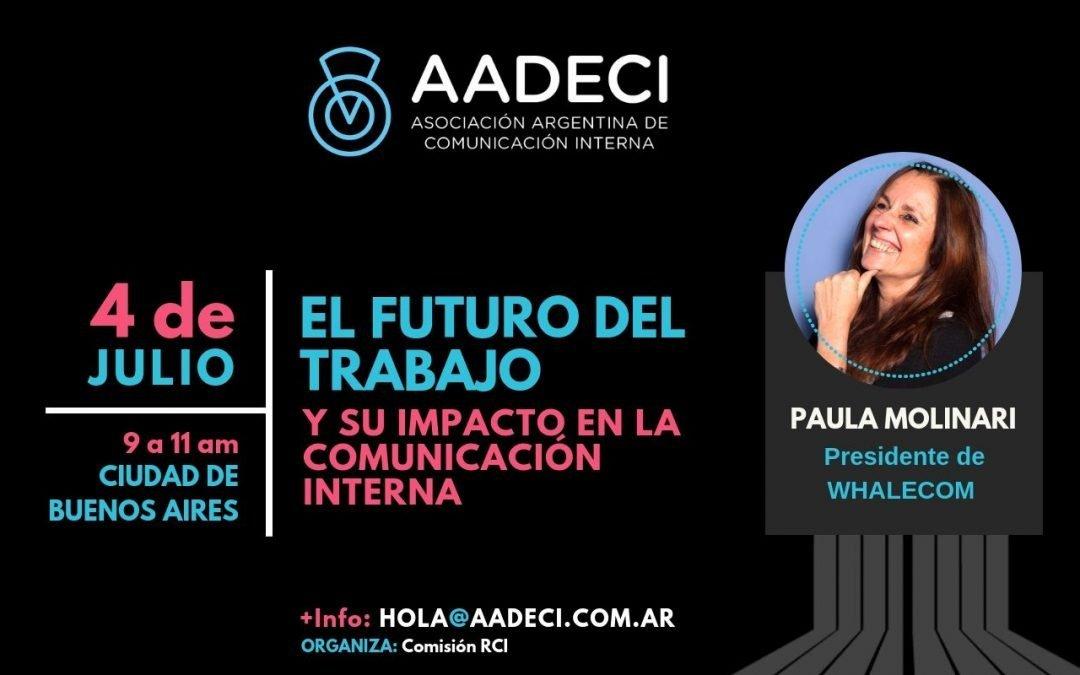 4/7/2019 – El futuro del trabajo y su impacto en la Comunicación Interna